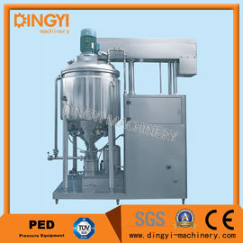1000-2000L Vacuum Homogenizer Mixer , Toothpaste Mixer Making Machine 220V/380V