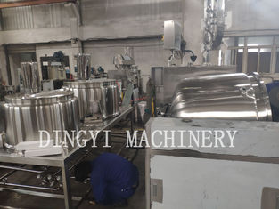 Safety Operation Shampoo Mixing Machine / Industrial Cosmetic Equipment 100L