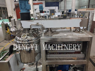 Cosmetic Industries Vacuum Planetary Mixer Panasonic Frequency Inventer